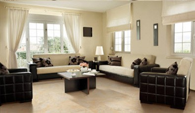 Laminate Flooring for modern living room | A & S Carpet Collection