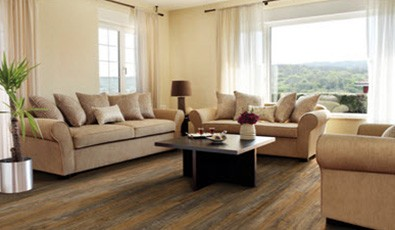 Modern living room flooring | A & S Carpet Collection