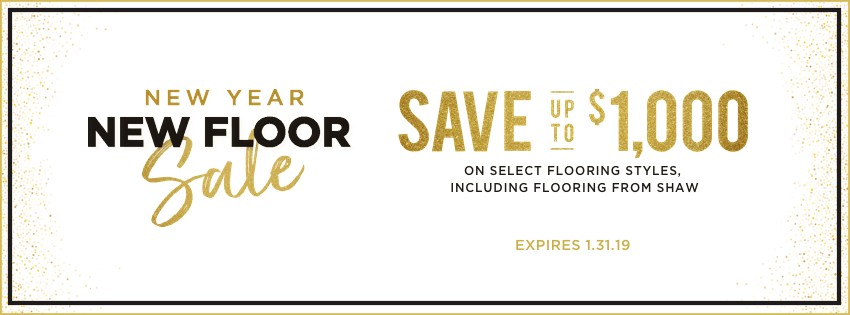 New Year New Floor Sale