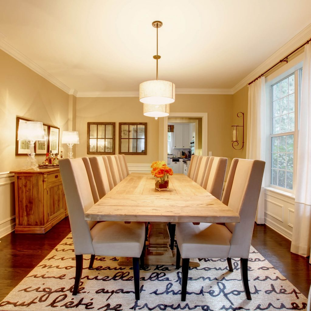 Choosing the Best Rug for Your Dining Room | A & S Carpet Collection