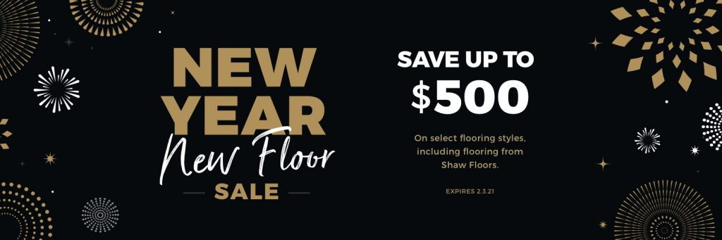New Year New Floors Sale | A & S Carpet Collection