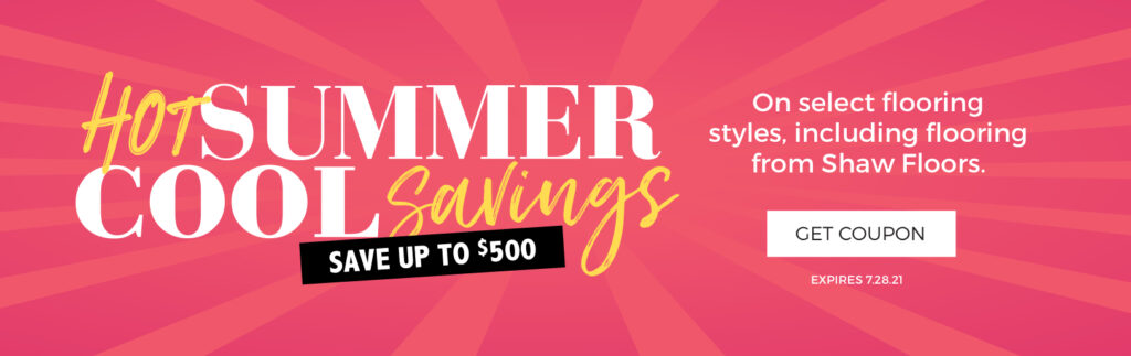 Hot Summer, Cool Savings | A & S Carpet Collection